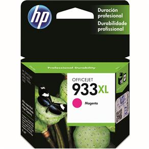 Cartucho de Tinta HP Officejet 933XL Magenta - CN055AL