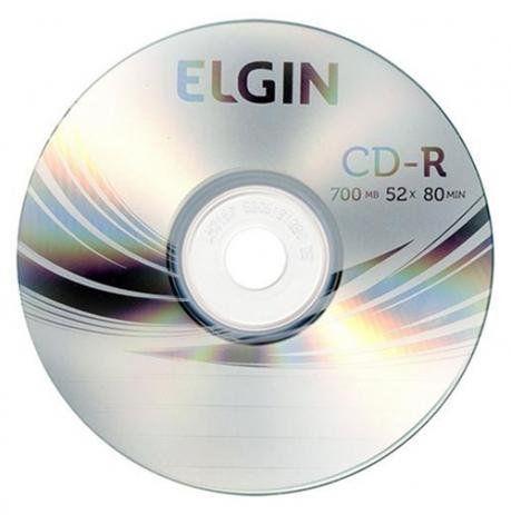 CD-R Elgin  Gravavel CD-R 700MB/80MIN/52X