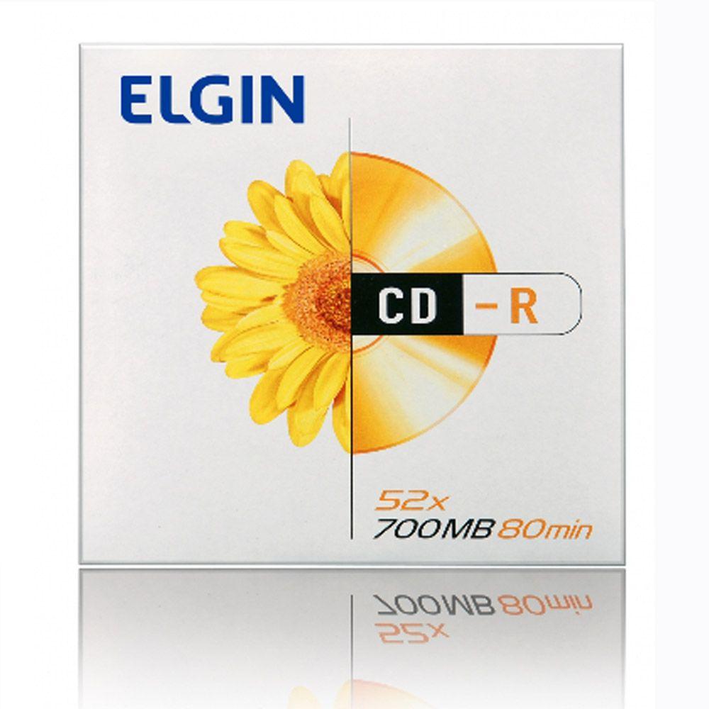 Cd-rw Elgin 700mb/80min/4x - Envelope