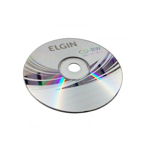 CD-RW ELGIN 700MB/80MIN (TUBO)