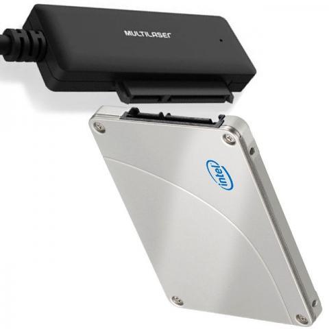 Conversor Multilaser USB 3.0 X HD Sata 2,5´´ - GA146