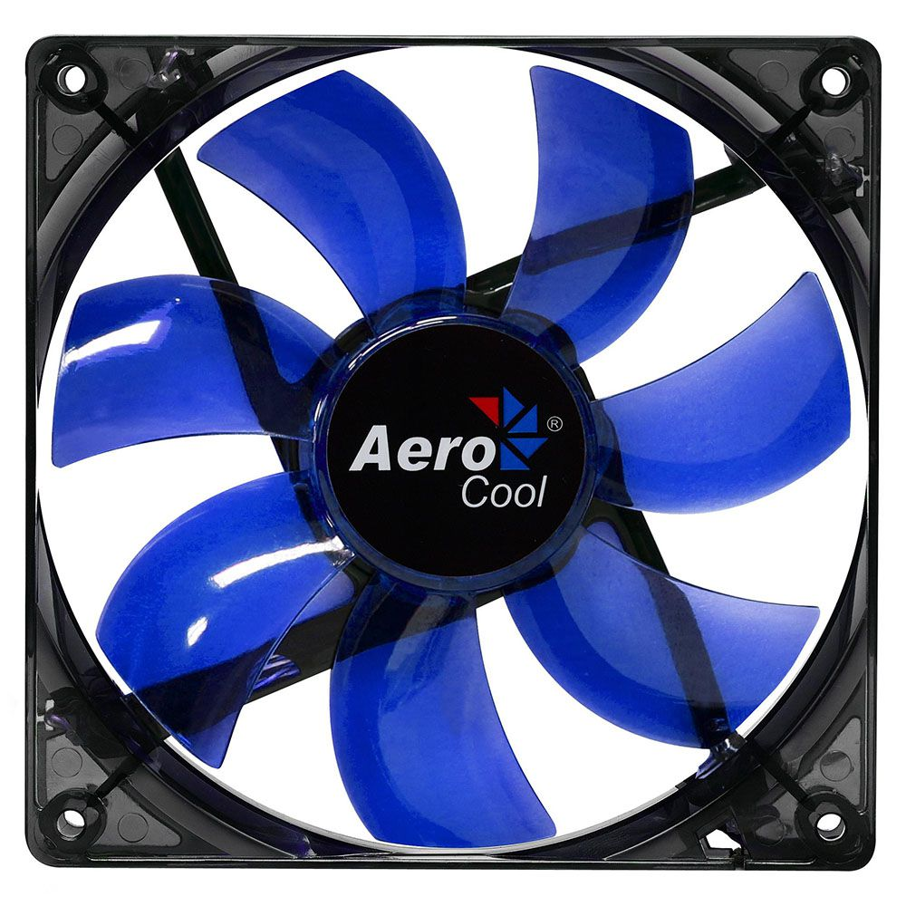 Cooler Aerocool BLUE LED Fan 12mm Azul - EN51394