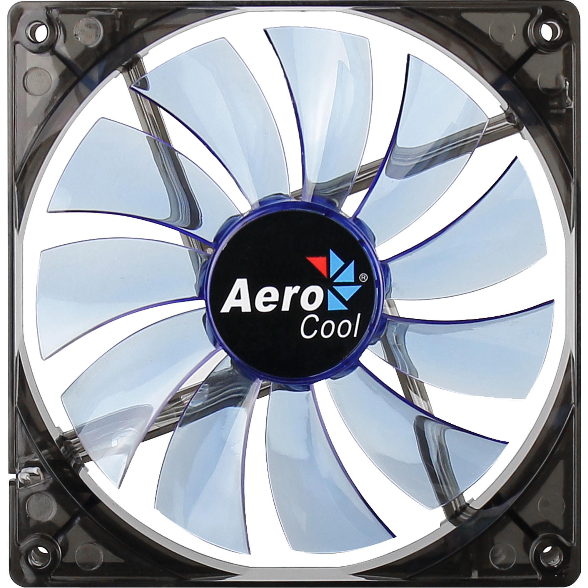 Cooler Aerocool BLUE LED Fan 14cm Azul - EN51400