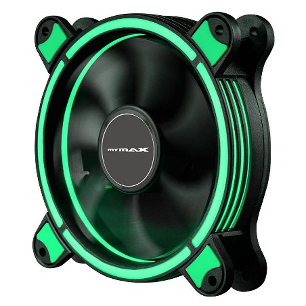 Cooler Fan Mymax Spectrum 2 LED VERDE 120MM