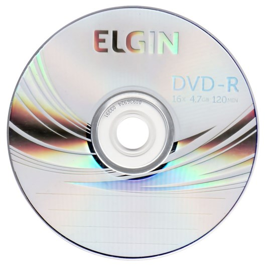 DVD-R Elgin 4.7GB, 16x, 120min - Avulso (Un)