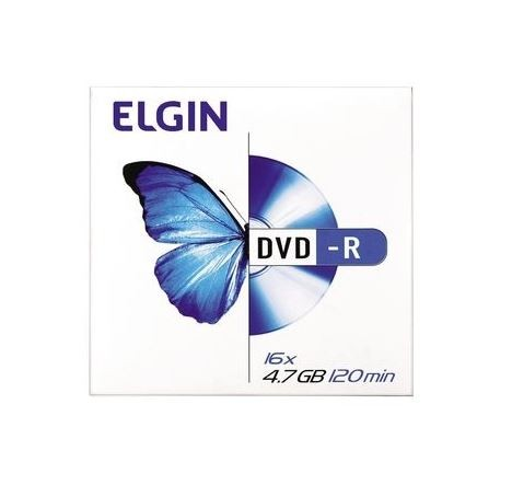 Dvd-r Elgin 4.7gb 16x Envelope 1 Unidade  - 82099