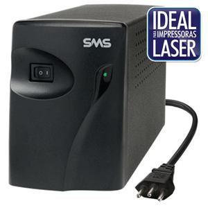 Estabilizador SMS Progressive III 1000VA Bivolt - 16216