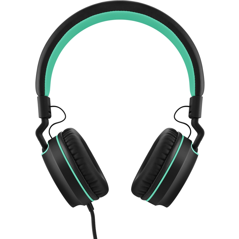 Fone de Ouvido C/ Microfone Headphone Pulse On Ear Stereo Preto/Verde - PH159