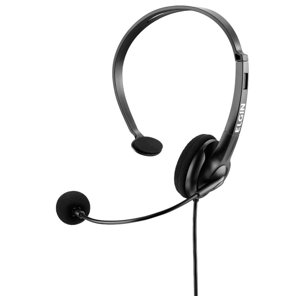 Fone de Ouvido Headset Elgin com Ajuste - F02-1NSRJ