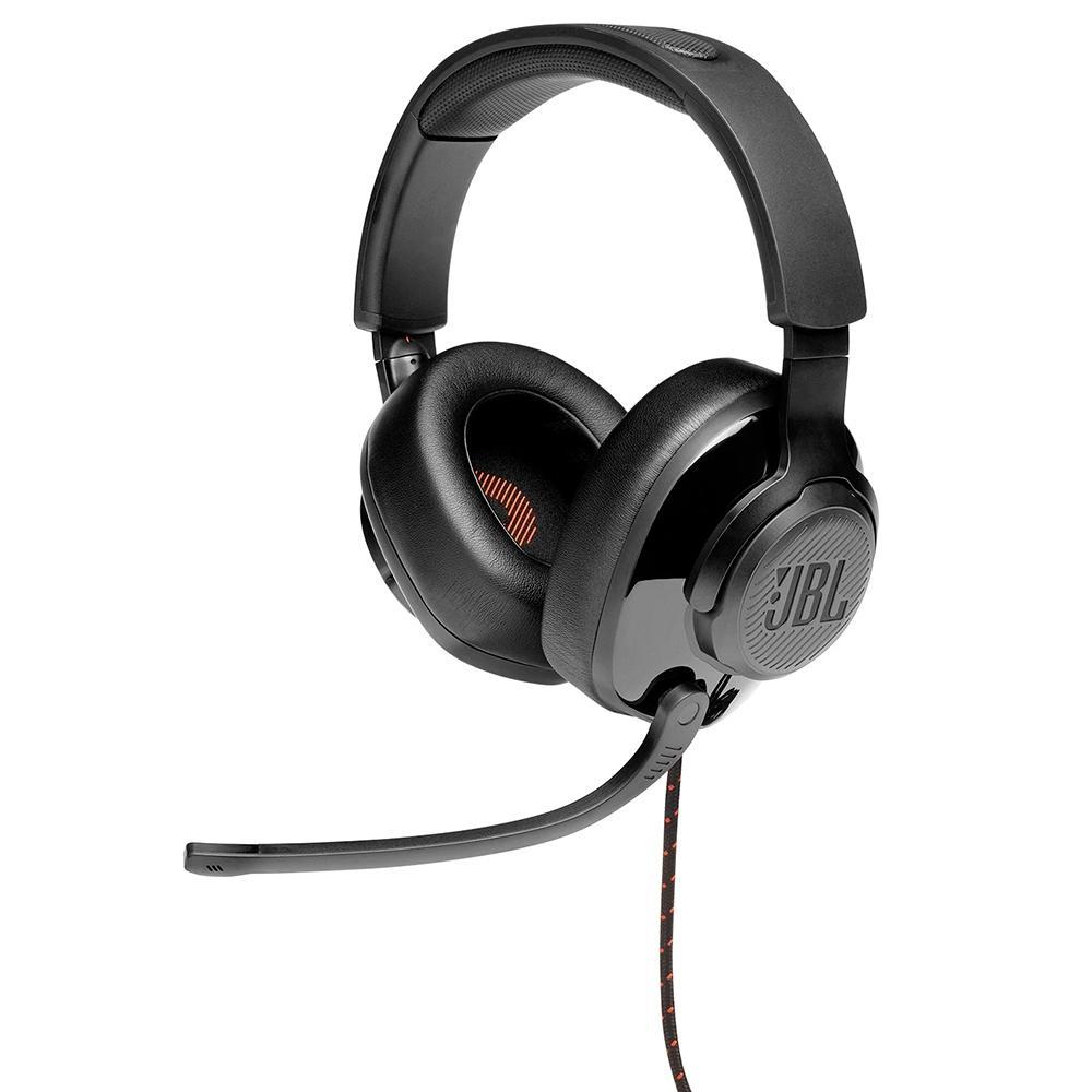 Fone de Ouvido Headset Gamer JBL Quantum 200, Drivers 50mm, Preto