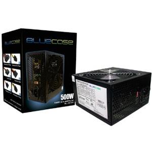 Fonte BlueCase ATX 500W Real - MPV-500 com Cabo - BLU500PFC