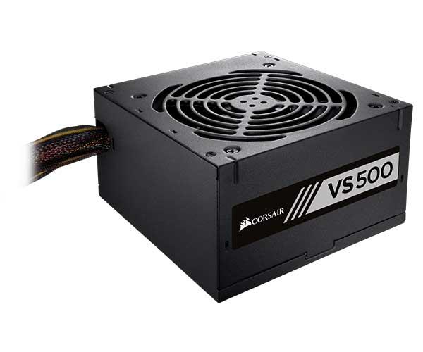 Fonte Corsair 500W 80 Plus White VS500 CP-9020118-LA