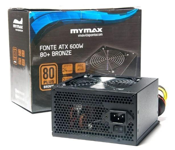 Fonte Gamer ATX 600W 80+ Bronze - MPSU/FP650W