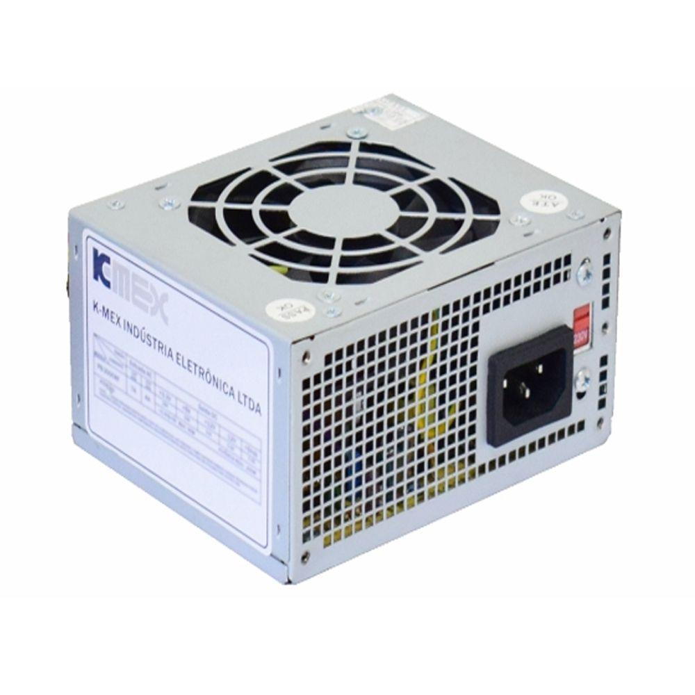 FONTE ITX/M-ATX 200WTS REAIS K-MEX- REF : PB-200CNF