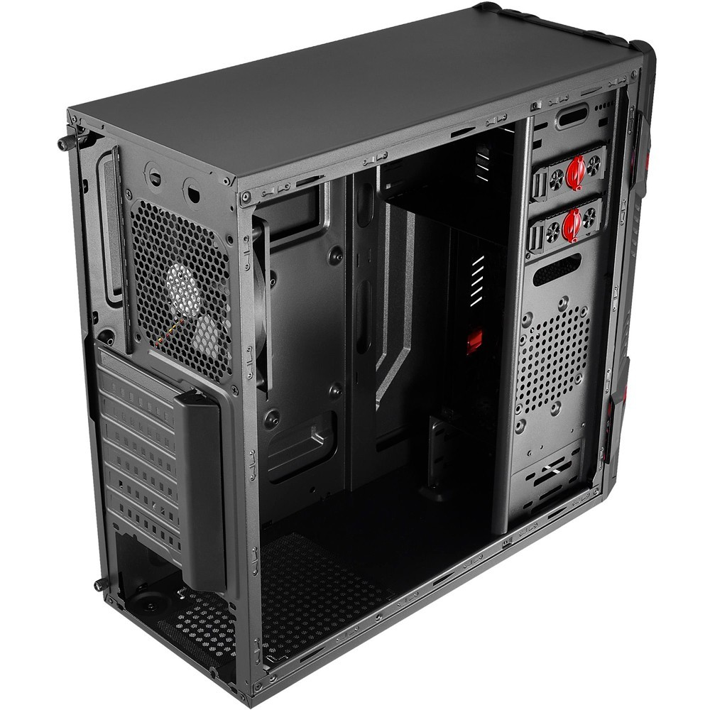 Gabinete Gamer AeroCool Mid Tower GT WINDOW Preto - EN58683