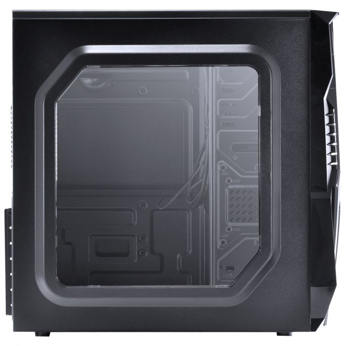 Gabinete Gamer VINIK Vx Gaming KEPLER Com Janela Frontal Acrílica, Com Fan Frontal 120mm - Led Vermelho