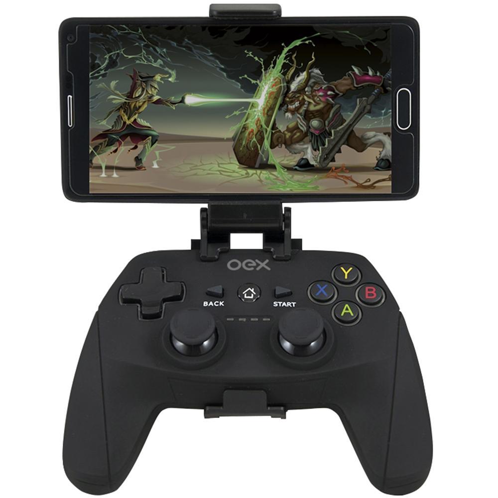 Gamepad OEX Origin, Bluetooth, para Android e PC, Preto - GD100