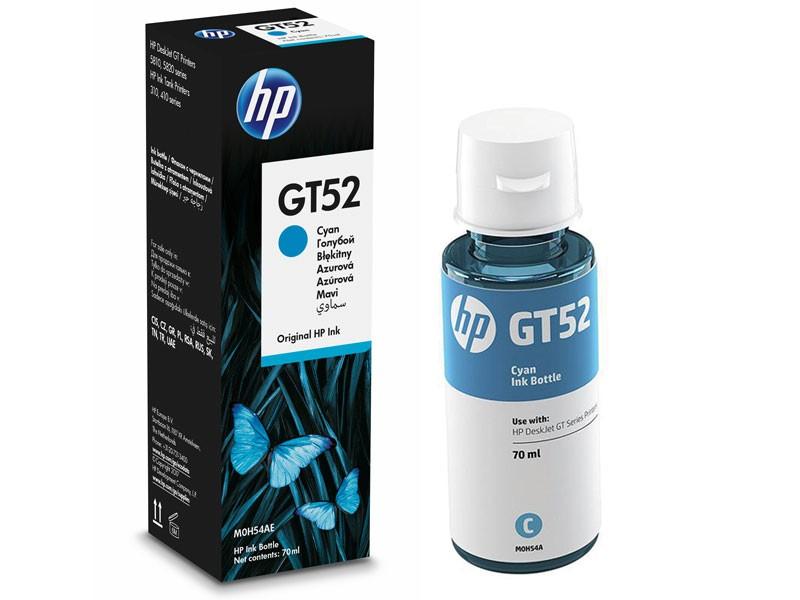 Garrafa de Tinta HP GT52 Ciano 70ML P/ Multifuncional GT 5822 - M0H54AL