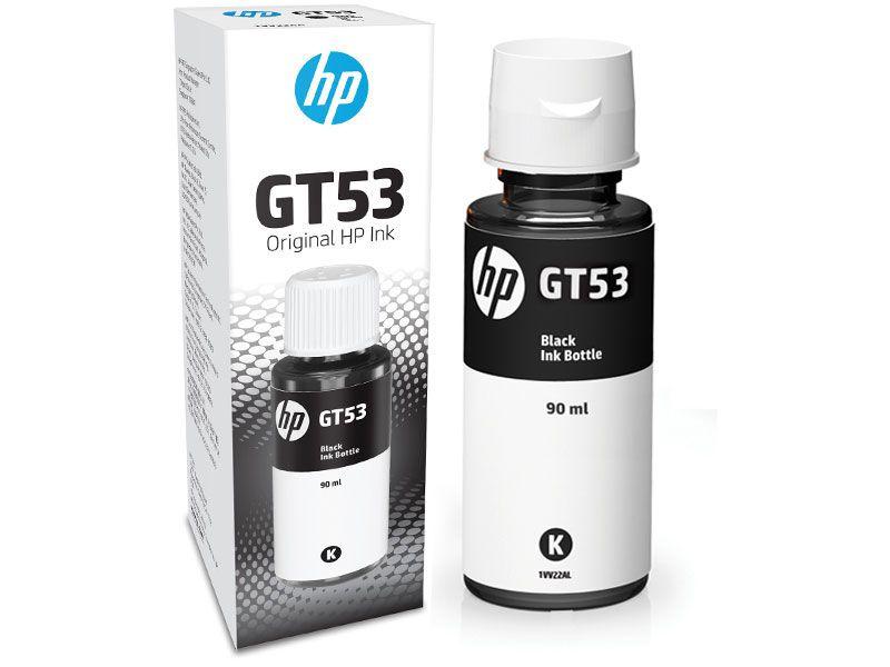 Garrafa de Tinta HP GT53 Preto 90ML P/ Multifuncional - 1VV22AL