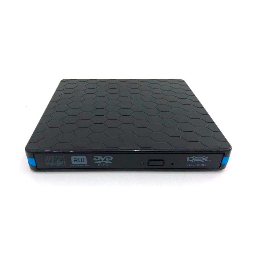 Gravador de DVD Externo Slim USB 3.0 - Preto