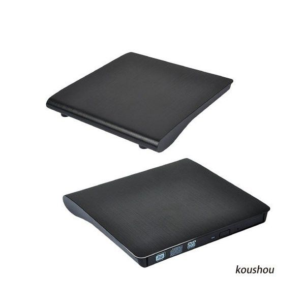 Gravador de DVD externo Usb 3.0 - Preto