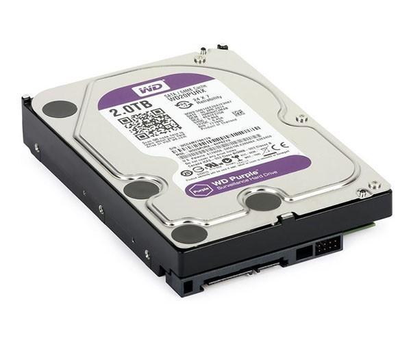 HD 2TB Wester Digital Purple IntelliPower P/ DVR - WD20PURX
