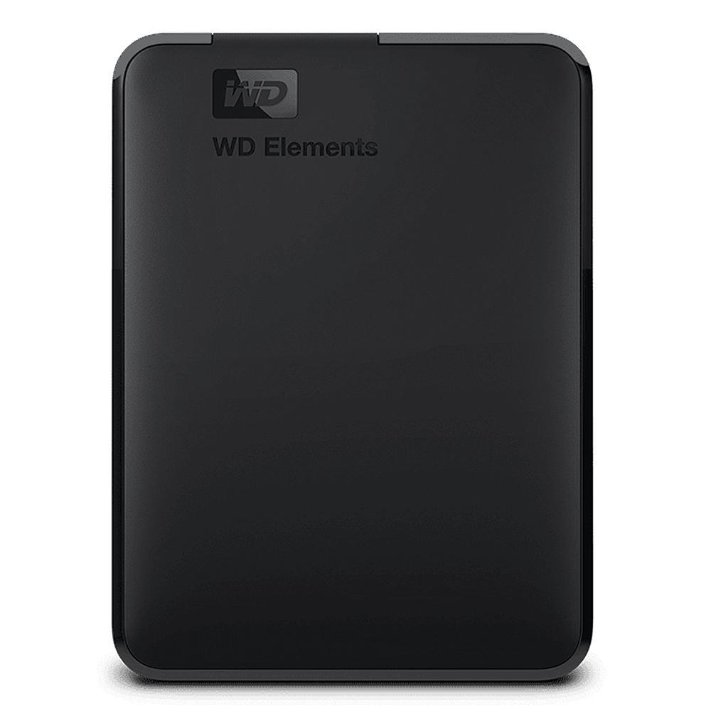 HD Externo Portátil WD Elements, 4TB, USB 3.0, Preto - WDBU6Y0040BBK