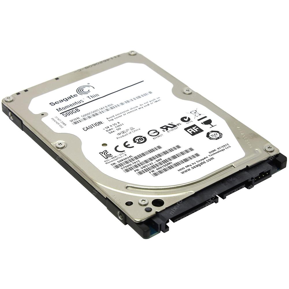 HD Seagate SATA 2,5´ p/ Notebook Laptop Thin 7mm 500GB 5400RPM 16MB Cache SATA 6.0Gb/s - ST500LT012