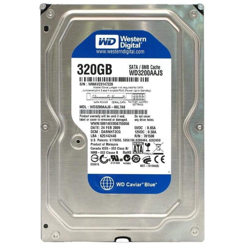 HD Western Digital 320GB SATA II - WD3200AAJS