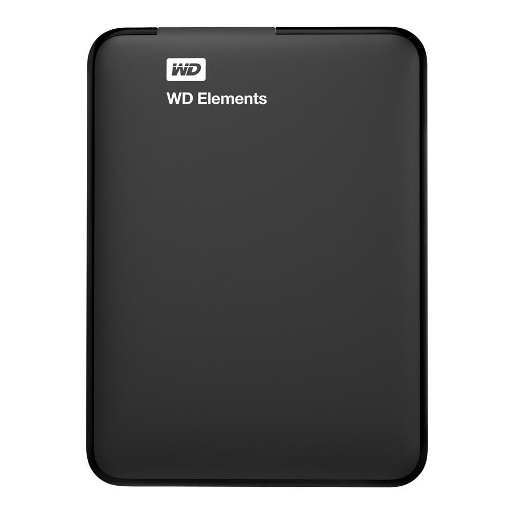 HD Western Digital Externo Portátil Elements USB 3.0 2TB - WDBU6Y0020BBK