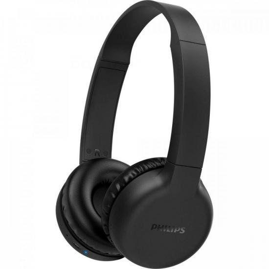 Headphone Philips Wireless Bluetooth - TAH1205BK/00 Preto