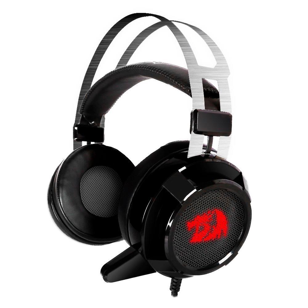Headset Gamer Redragon Siren 2, Drivers 40 mm, USB, LED - H301USB-1