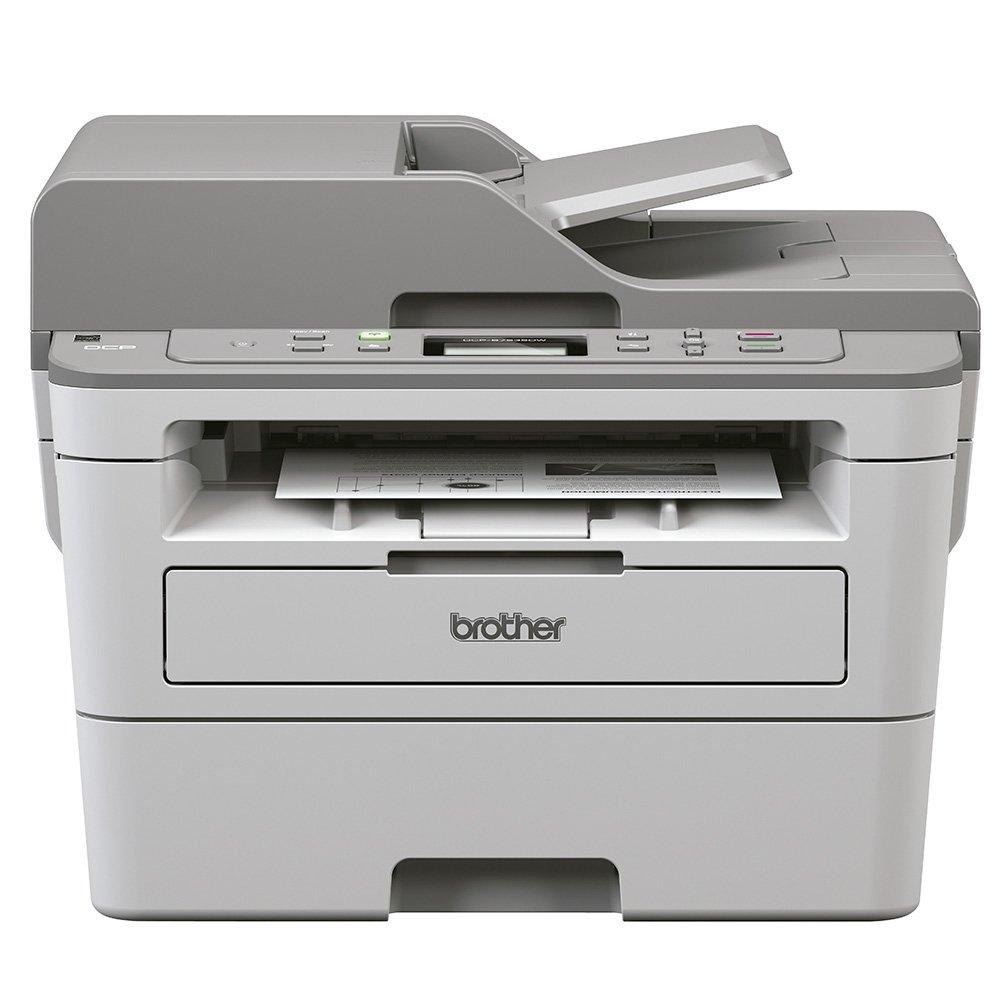 Impressora Multifuncional Laser, Monocromática, Conexão Ethernet RJ-45, Wi-fi, e USB, 110v - DCP-B7535DW