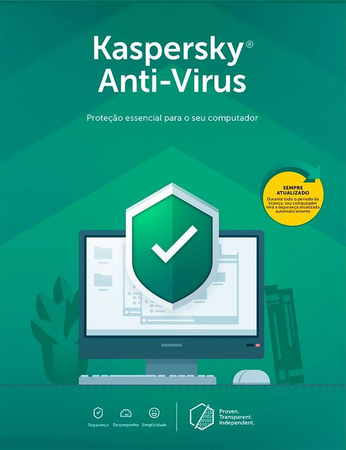 Kaspersky Antivírus - Via Download - 1 Ano