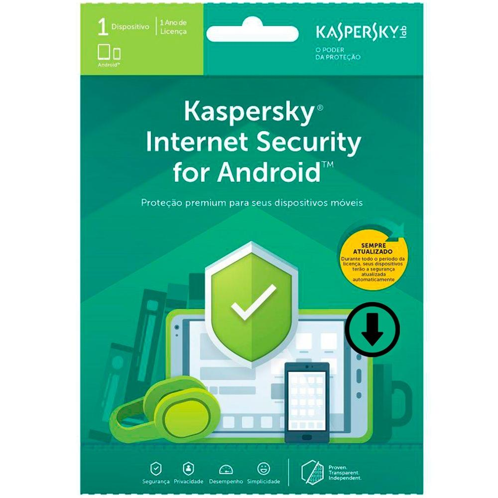 Kaspersky Internet Security para Android - 1 Dispositivo - Via Download - 1 Ano