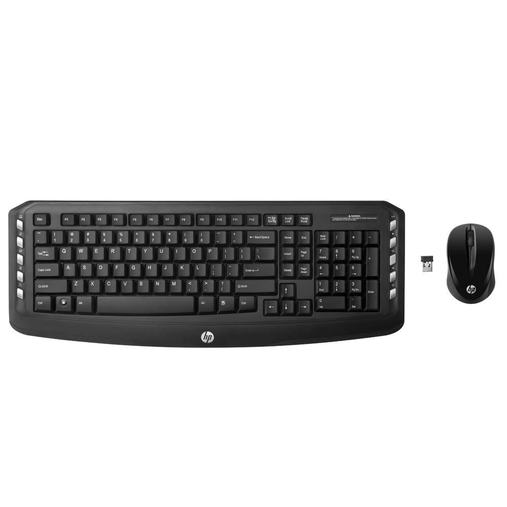 Kit 2x1Teclado e Mouse HP S/ Fio - LV290AA