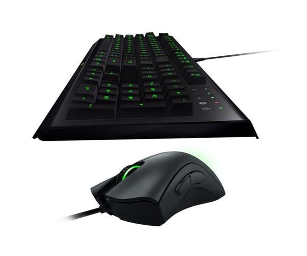 Kit Gamer Teclado e Mouse Razer Cynosa Bundle Pro DeathAdder 2000 DPI - RZ84-01470100-B3M1