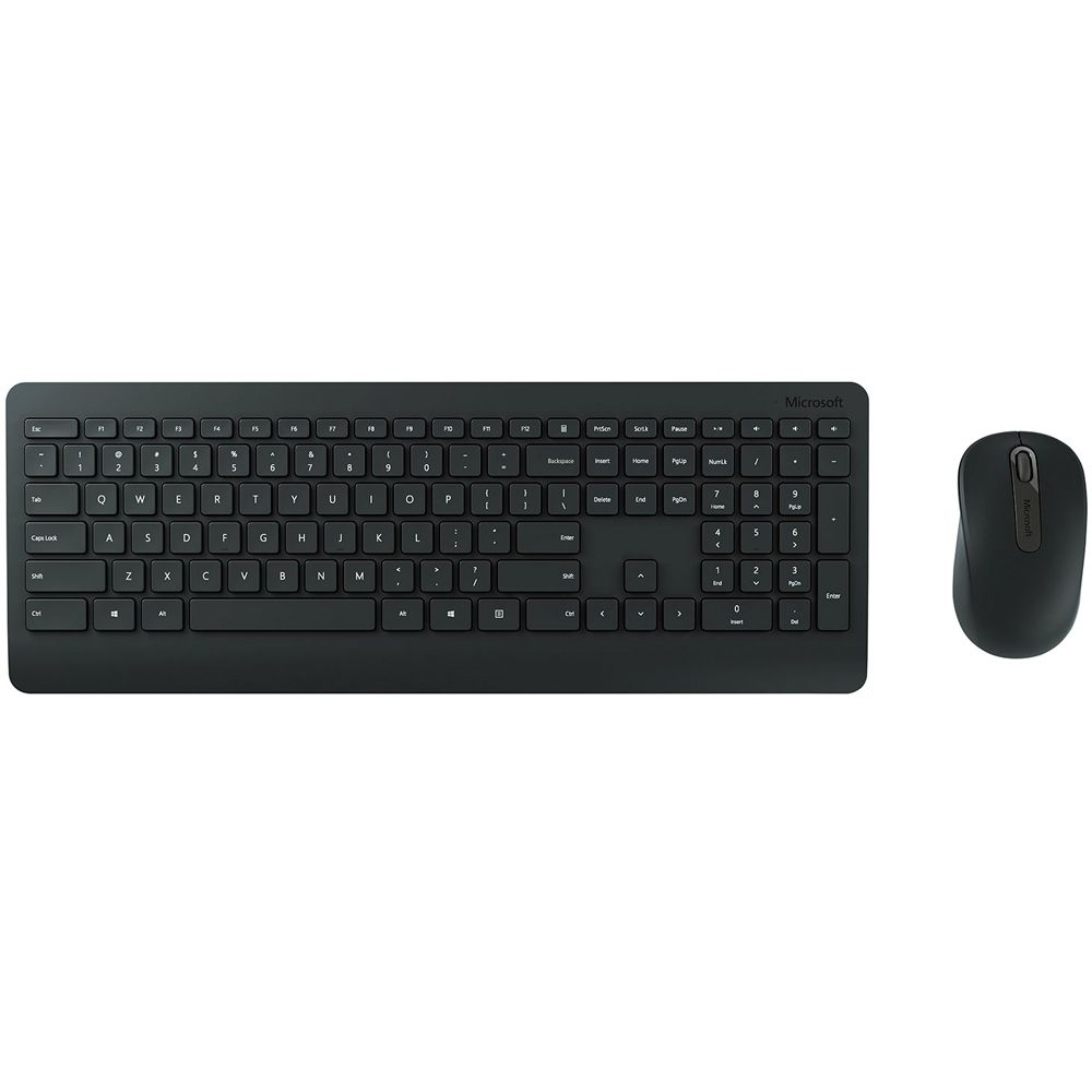 Kit Teclado e Mouse Microsoft Multimídia Wireless Desktop 900, Preto - PT3-00005