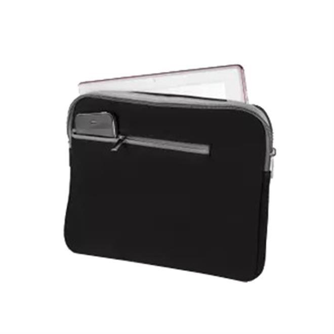Maleta Case Multilaser Neoprene Para Notebook Até 15,6 Pol. Preto E Cinza - BO400