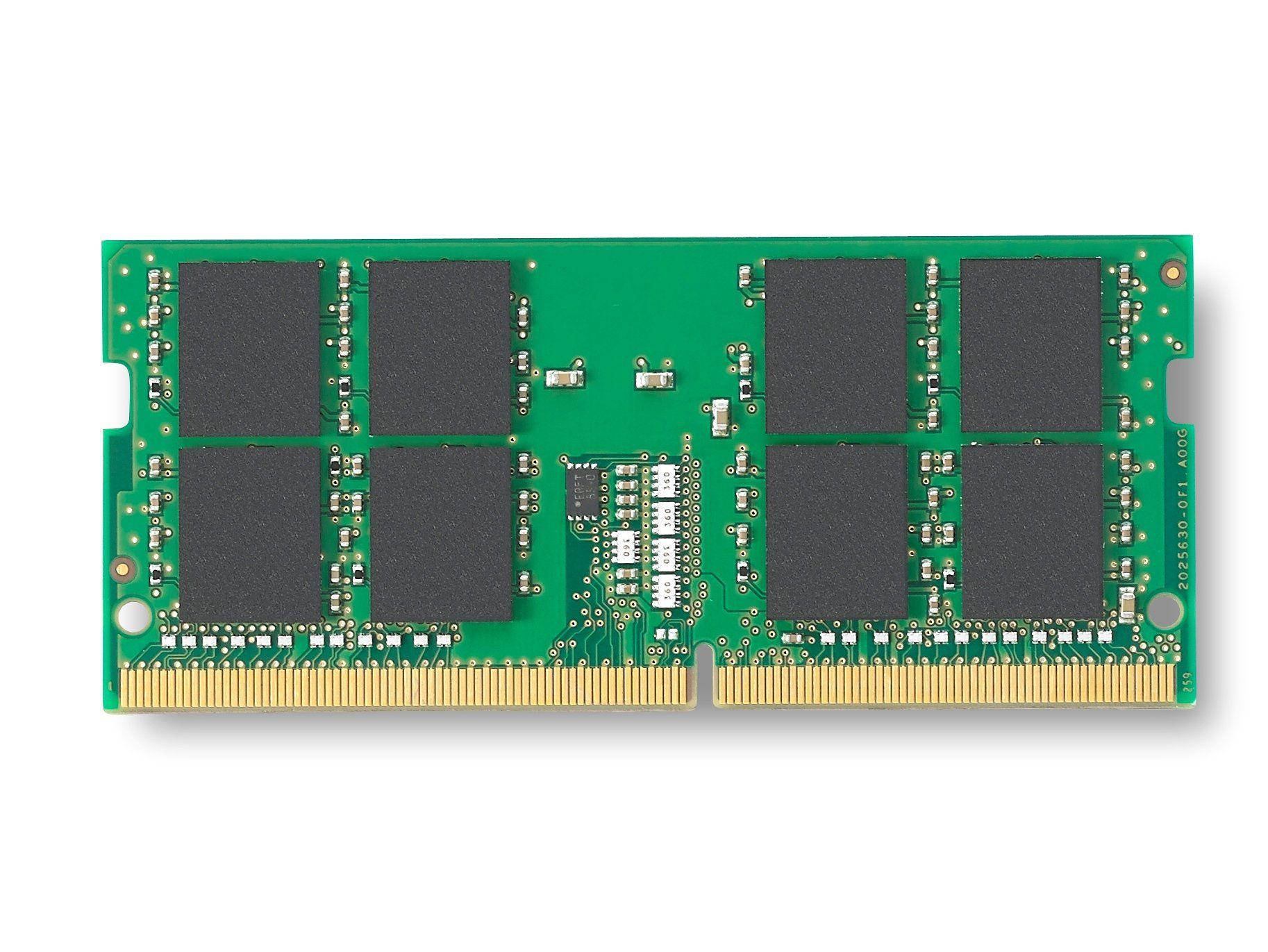 Memória de 16GB SODIMM DDR4 2400Mhz 1,2V 2Rx8 para notebook -KVR24S17D8/16