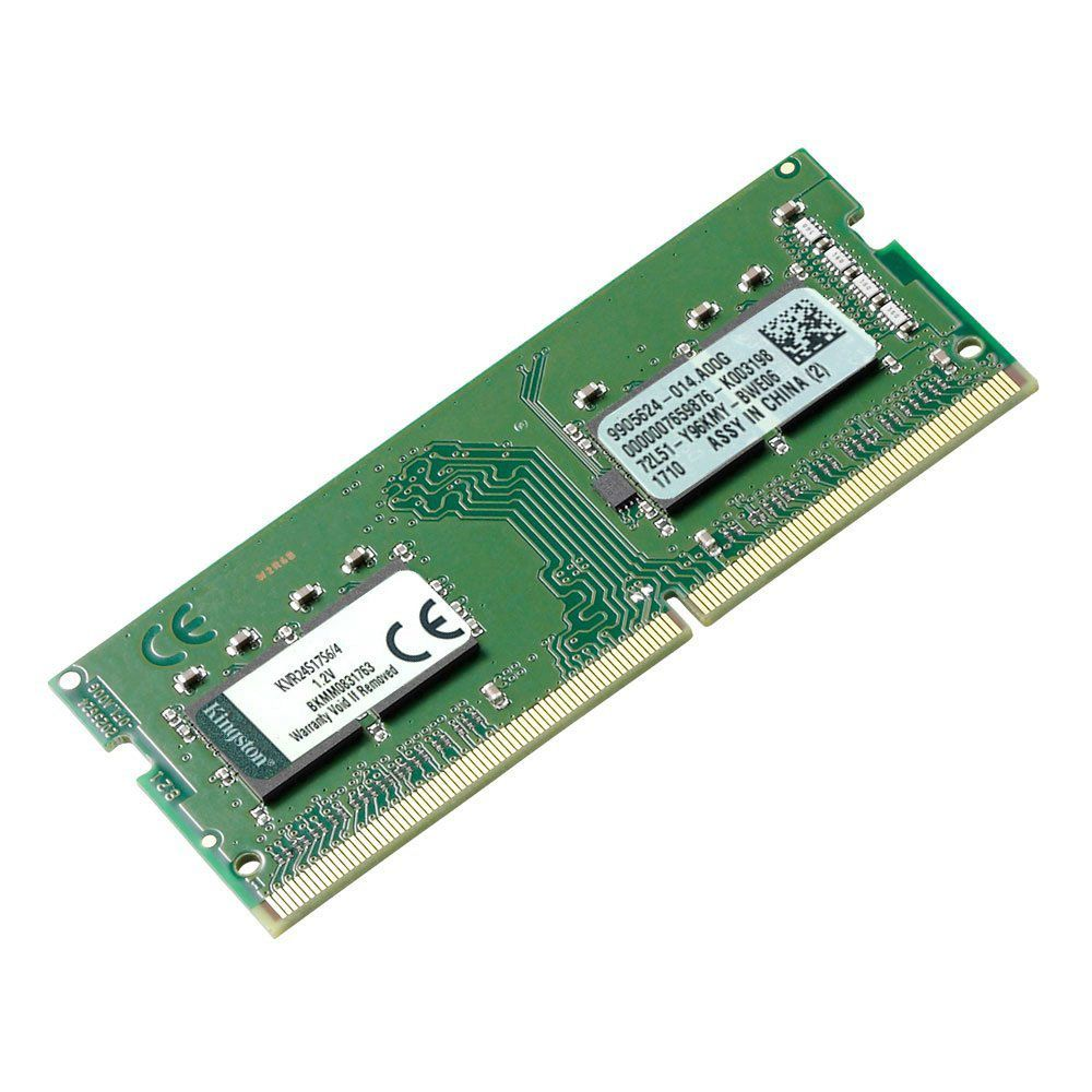Memória Kingston 4GB 2400Mhz DDR4 p/ Notebook CL17 - KVR24S17S6/4