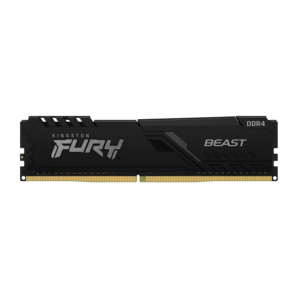 Memória RAM 8GB DDR4 2666MHz CL16 Kingston Fury Beast - Desktop - KF426C16BB/8