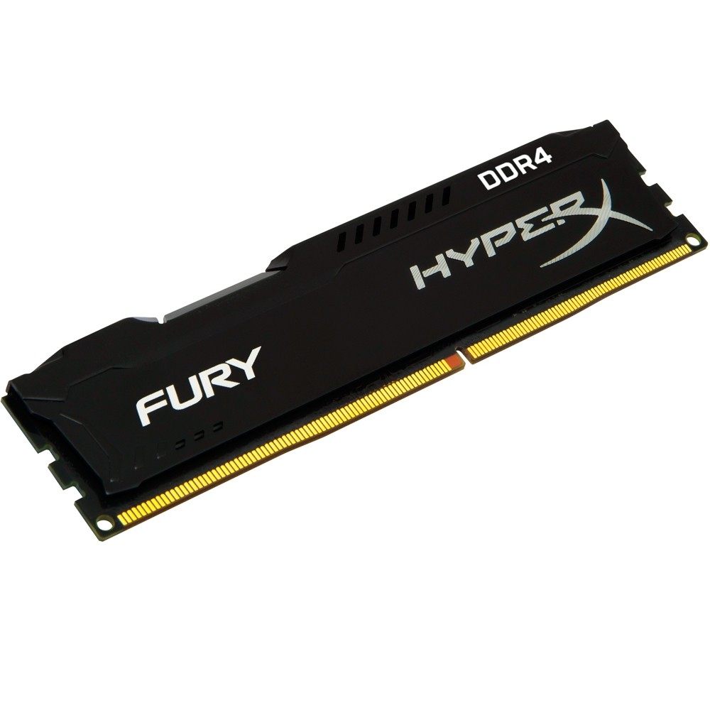 Memória RAM Kingston HyperX FURY 4GB 2400Mhz DDR4 CL15 Black Series - HX424C15FB/4