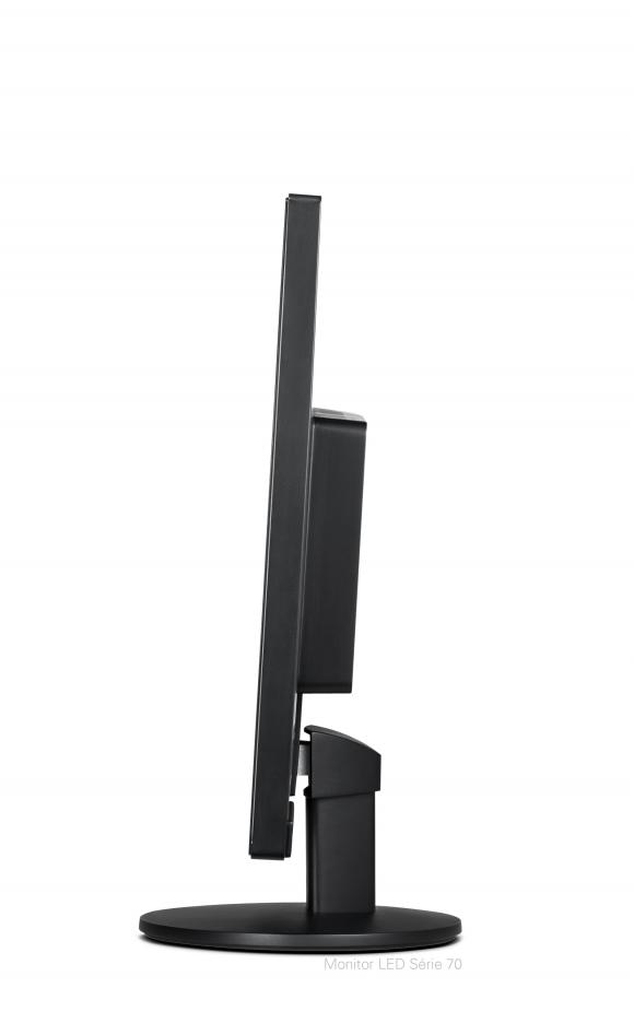 Monitor AOC LED 15.6 Slim Design, Alimentação de Energia via USB - E1670Swu