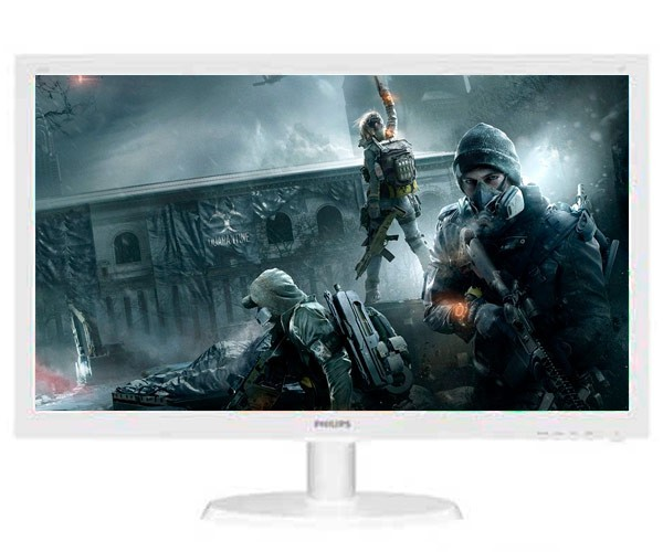 "Monitor Philips 21.5"" Full HD LED Widescreen, VESA 100x100 - 223V5LHSW"