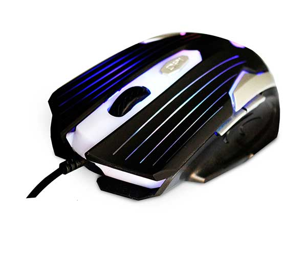 Mouse Gamer C3 Tech 2400 DPI, USB, Preto / Prata - MG-11BSI