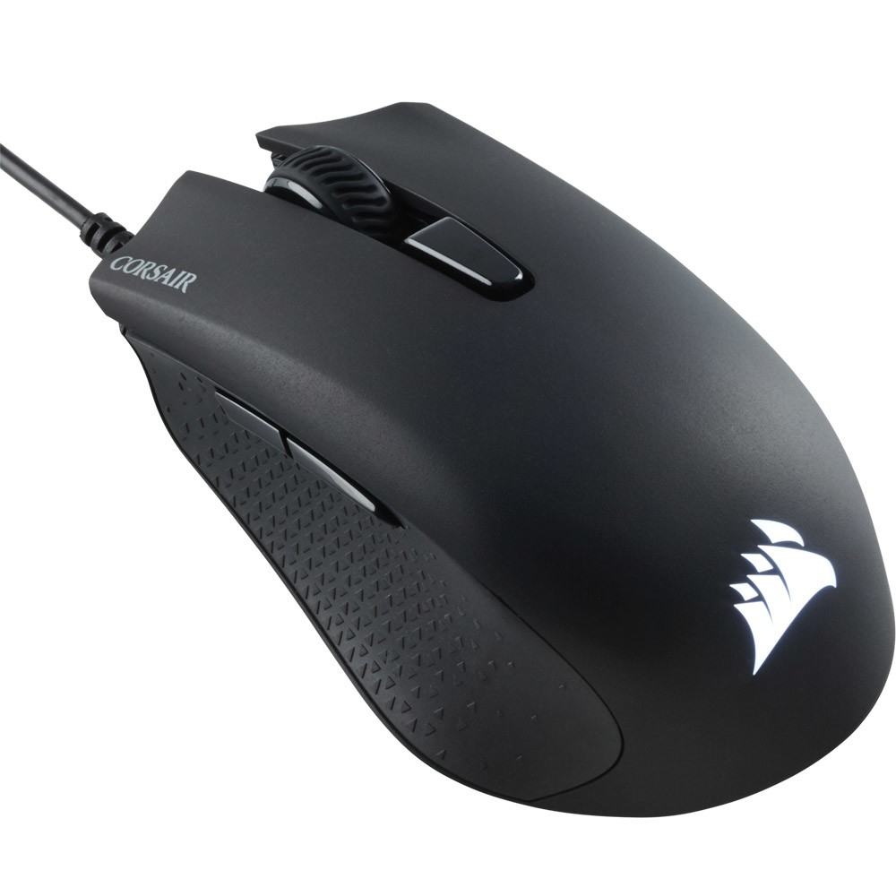 Mouse Gamer Corsair Harpoon, Multicolor RGB, 6000 Dpi - CH-9301011-NA