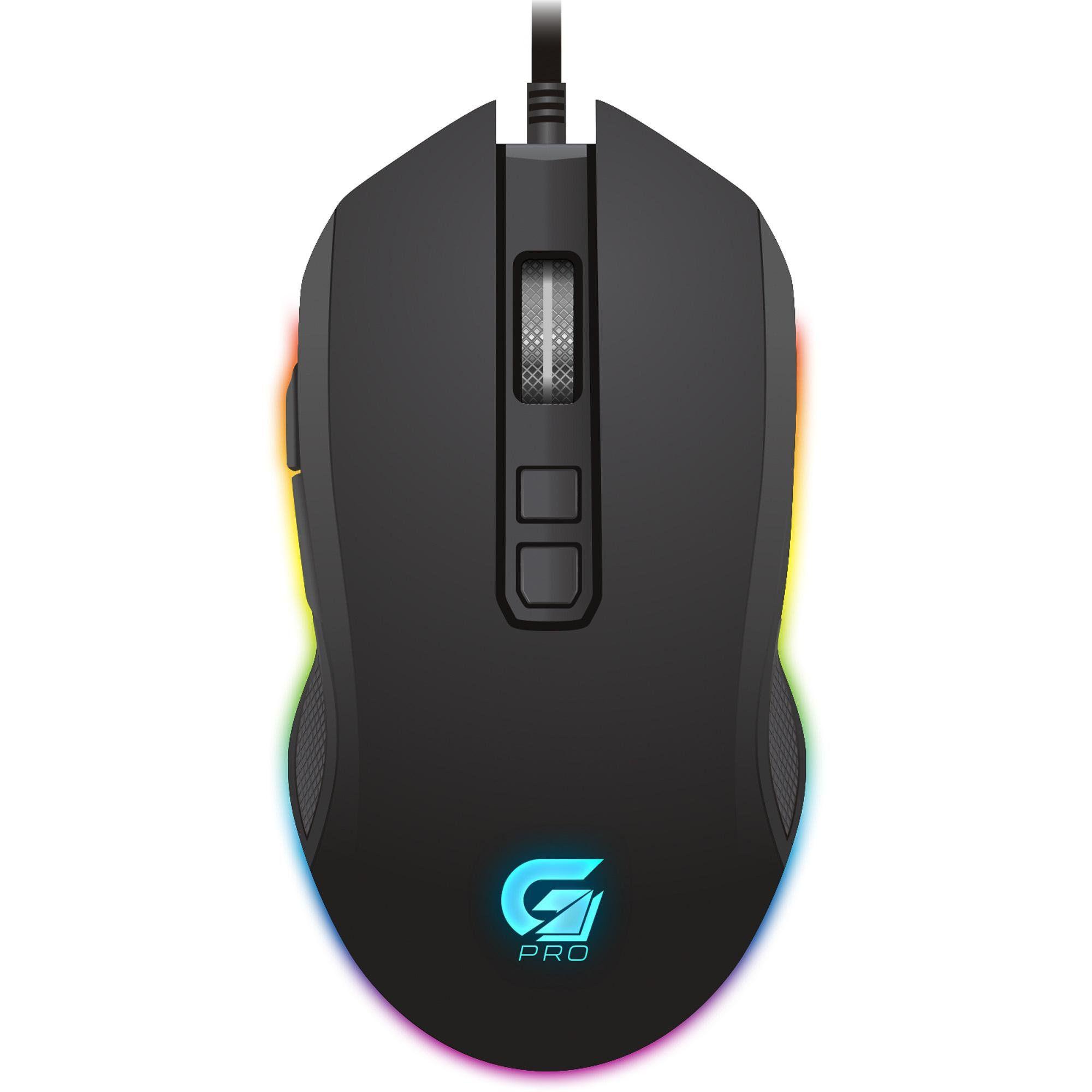 Mouse Gamer FORTREK PRO M3 RGB Preto - REF. 64384