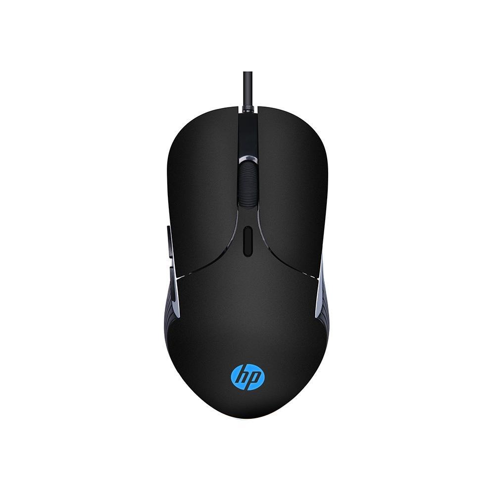 Mouse Gamer HP M280, Iluminação em RGB, 6 Botões, 2400DPI - REF : 7ZZ84AA#ABM