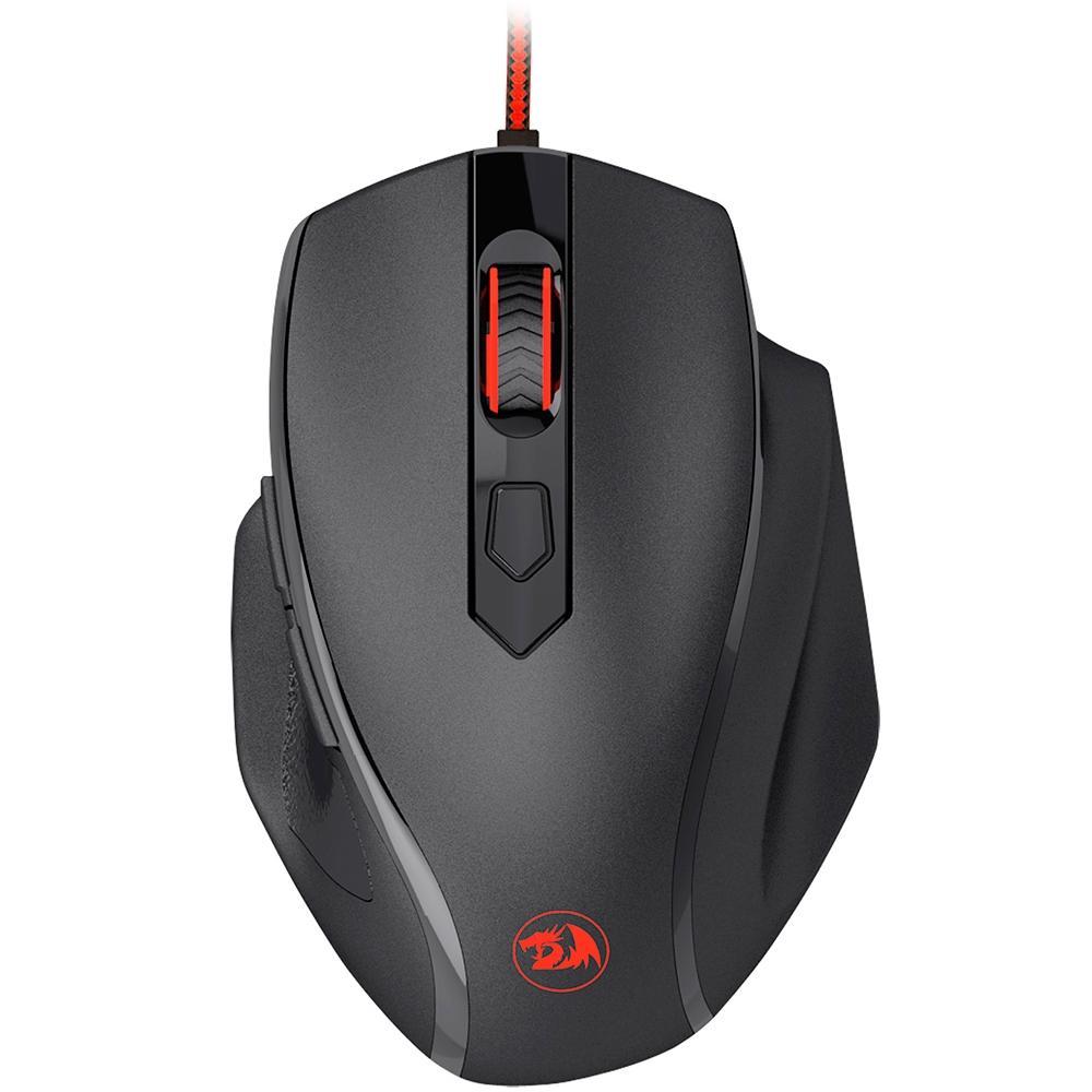 Mouse Gamer Redragon Tiger 2, RGB, 6 Botões, 3200DPI - M709-1
